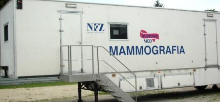 Wrześniowa wizyta mammobusa w Grodzisku