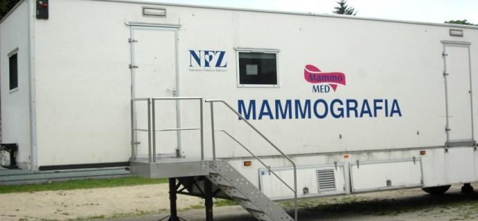 Jeszcze jedna wizyta mammobusa w styczniu, kolejne w lutym