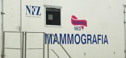 Wiosenne wizyty mammobusów w Grodzisku