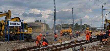 Kolejarze pracują, możliwe opóźnienia pociągów