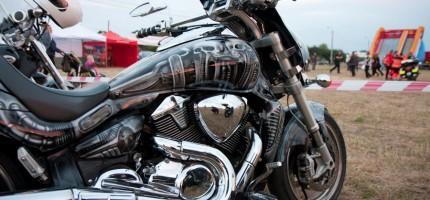 Atrakcje nie tylko motocyklowe na imprezie w Natolinie