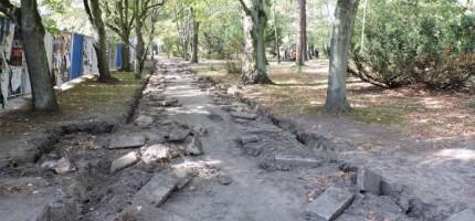 Rewitalizacja parku złapała poślizg, ale niegroźny
