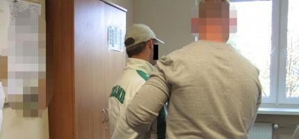 Podejrzani o kradzieże zatrzymani