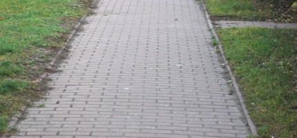 Rozbudowa chodnika w większym zakresie