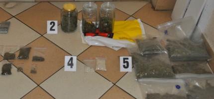 Wytworzył ponad dwa kilogramy narkotyków