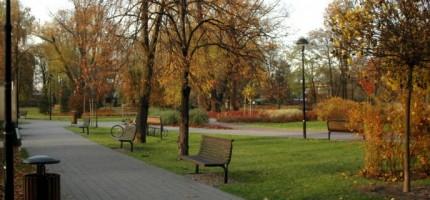 Są projektanci grodziskich parków i skwerów