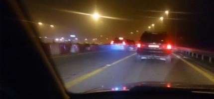 Trzy kolizje na autostradzie