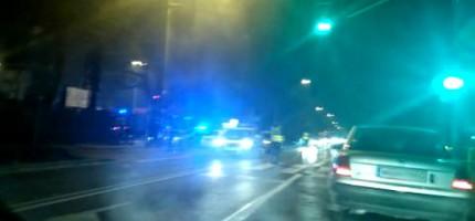 Wypadek w Milanówku. Są utrudnienia