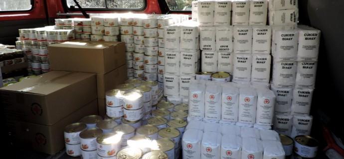 Grodziska zbiórka żywności dla kresowiaków