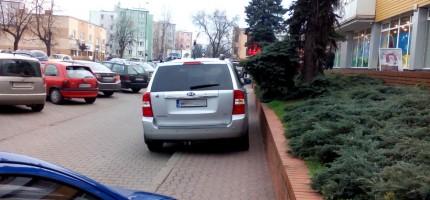 """""""Mistrz"""" parkowania w Grodzisku"""
