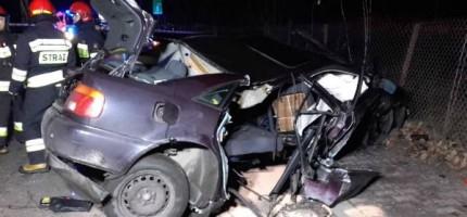 Wieczorne zderzenie w Milanówku, pijany kierowca
