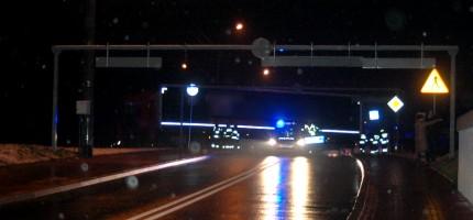 Ciężarówka zablokowała ul. Bałtycką
