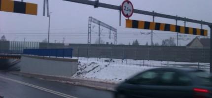 Ograniczenie wysokości niewystarczające dla kierowców