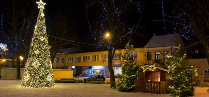 Grodzisk w scenerii zimowo-świątecznej – fotogaleria