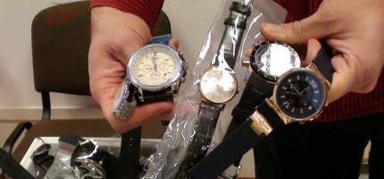 Podrobione zegarki za 700 tys. zł