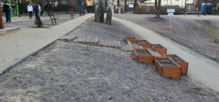 Ogród miejski w Milanówku – aranżacja ruszy w majówkę