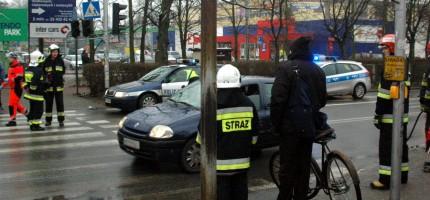 Wypadek w Milanówku. Jedna osoba ranna