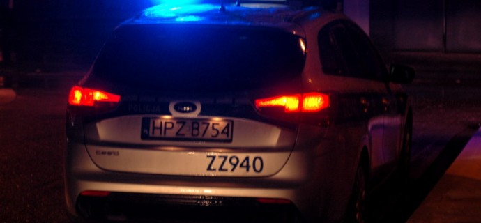 Policyjny pościg w okolicy grodziskiej stacji PKP. Zatrzymali 17-latka