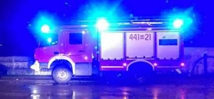 Wybuch gazu w Grodzisku. Jedna osoba ranna