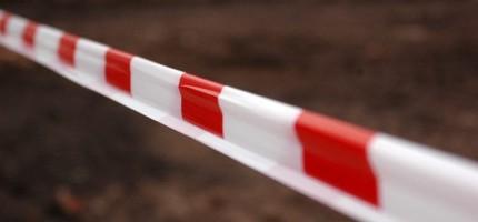 Uszkodzony gazociąg na Chełmońskiego. Droga zablokowana
