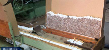 Zlikwidowali nielegalne fabryki papierosów