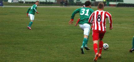 Lekcja futbolu od rezerw Legii