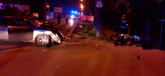 Poważny wypadek na Żyrardowskiej. Motocyklista nie żyje