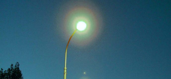 Energooszczędne oświetlenie na czterech ulicach
