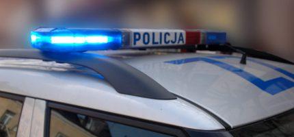 Policyjny pościg za motocyklistą