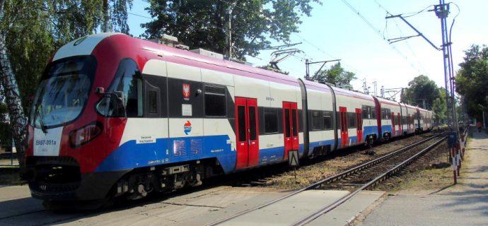 Awaria na WKD. Ruch pociągów wstrzymany