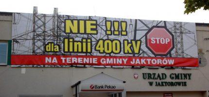 Jest alternatywa dla linii 400 kV. Linia u nas nie powstanie?
