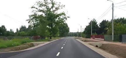 Droga do Józefiny już gotowa [VIDEO]
