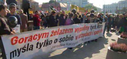 400 kV – dziś kolejny protest. Tym razem przed siedzibą PiS