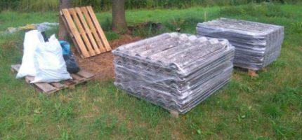 Gmina z dotacją na utylizację azbestu. Usunie prawie 140 ton
