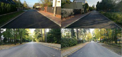 Kolejne ulice z nową nawierzchnią