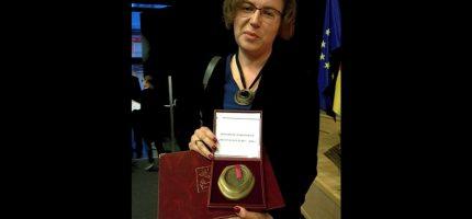 Milanowska nauczycielka na medal
