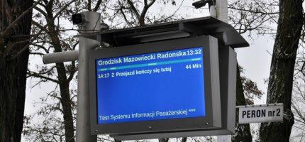 Wukadkowa impreza na inaugurację systemu informacji pasażerskiej