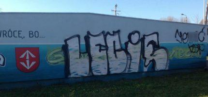 Zamazali grodziski mural. Uda się go odtworzyć?