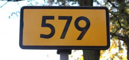 Co z przebudową drogi 579?