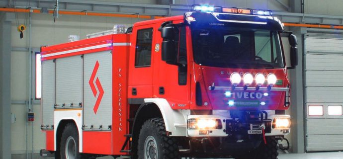 Nowy wóz już do dyspozycji strażaków