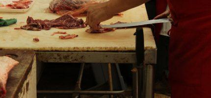 Nielegalna ubojnia w Żabiej Woli. Blisko 1,5 tony niezbadanego mięsa