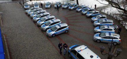 Nowe radiowozy dla grodziskiej policji