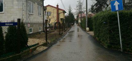 Gminne ulice poprawione przed zimą [FOTO]