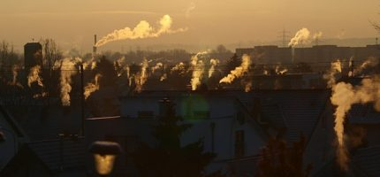 Podwyższone stężenia zanieczyszczeń w powietrzu