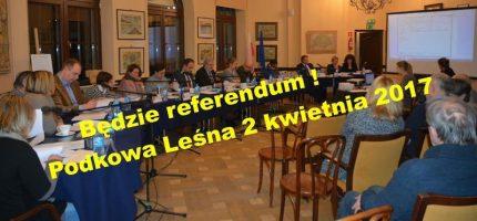 Podkowiańscy radni zdecydowali – będzie referendum!