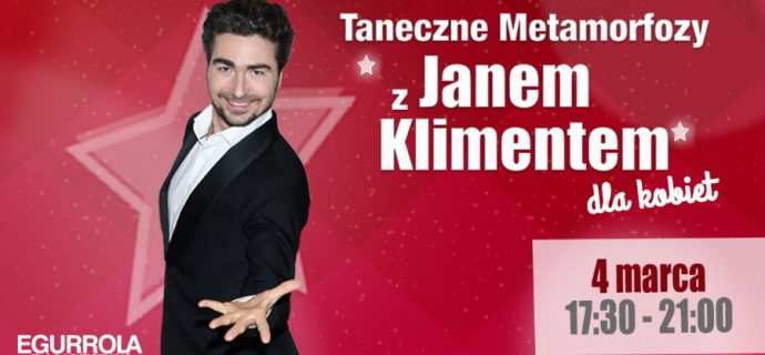 Taneczne Metamorfozy z Janem Klimentem w Grodzisku
