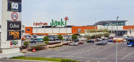 Centrum Handlowe Janki rozrośnie się