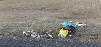 Zaśmiecona ostoja przyrody w Kraśniczej Woli [FOTO]