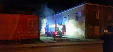 Wieczorny pożar na Obrońców Getta [FOTO]