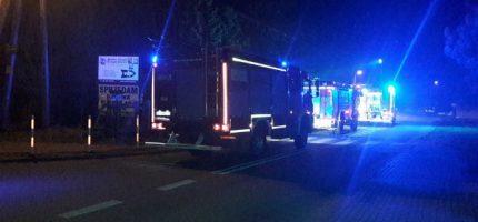 Wieczorny pożar w Żelechowie. Trzy zastępy w akcji